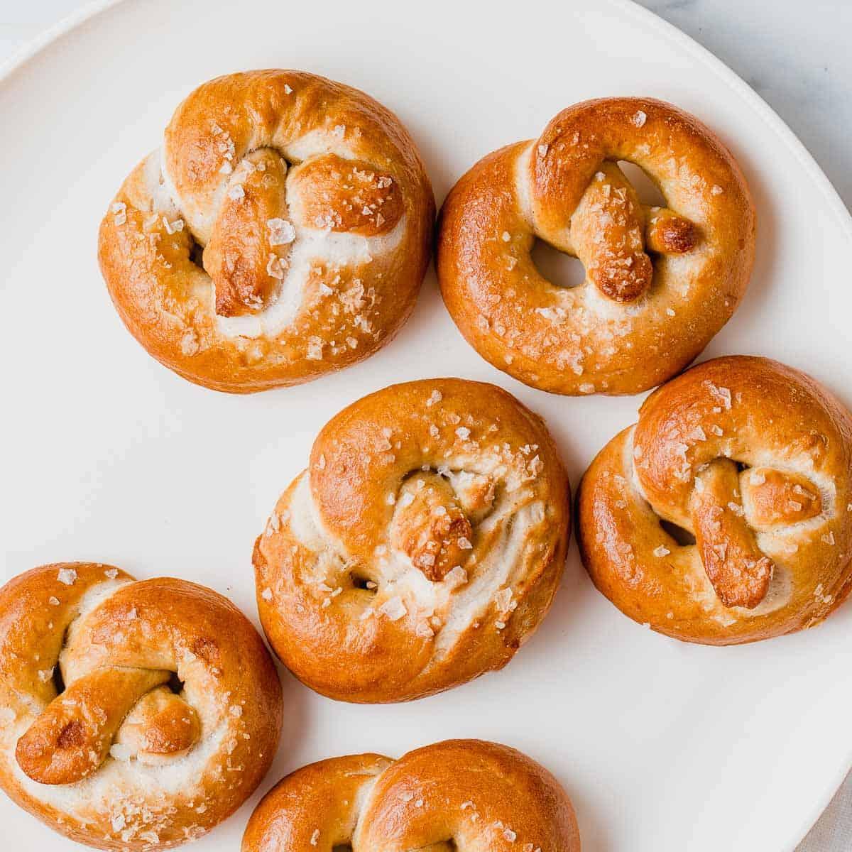 Soft Sourdough Pretzels Recipe - Easy