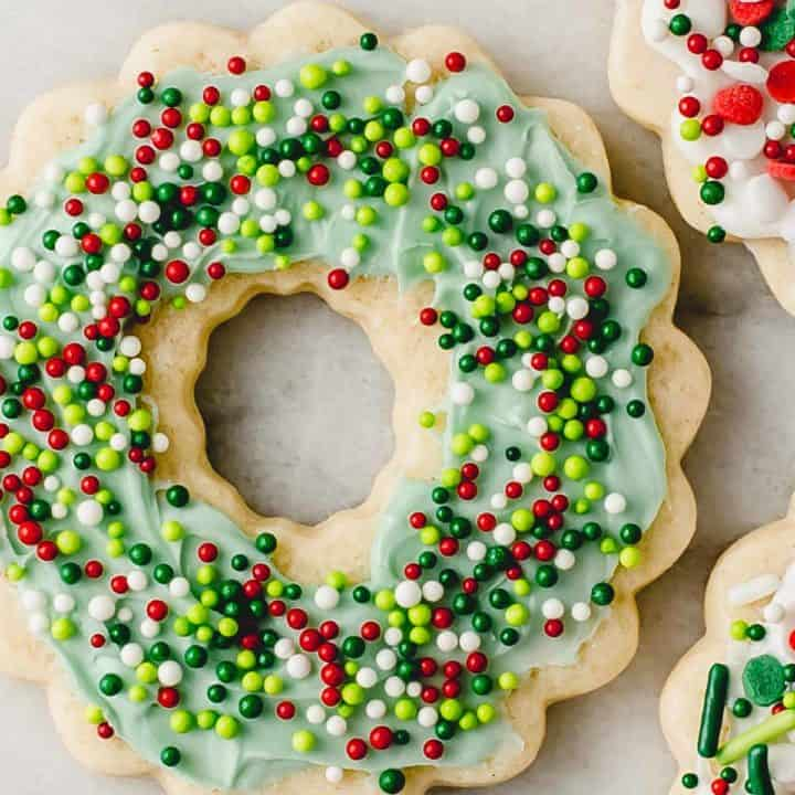 Sourdough cutout sugar cookies.